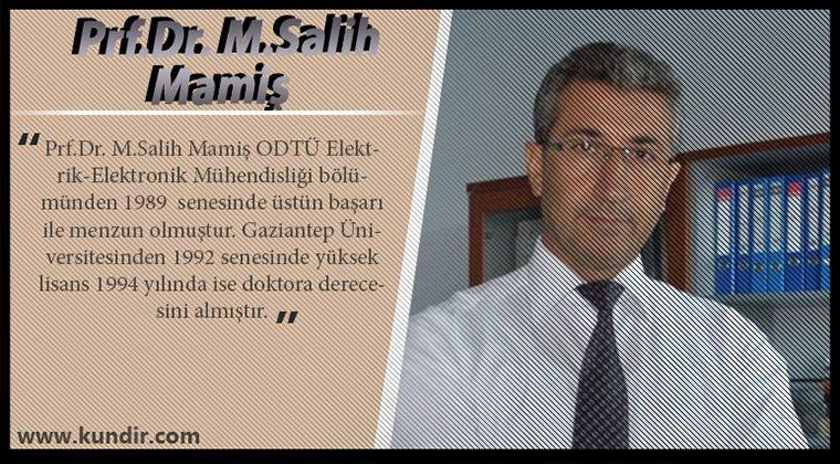 Prf.Dr. M.Salih Mamiş