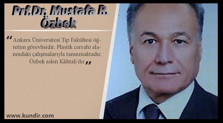 Prf.Dr. Mustafa R. Özbek