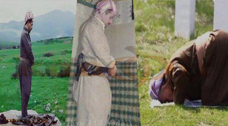 Mesud Barzani Namaz Kılıyor
