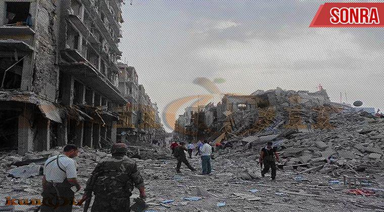 Önce Sonra Haliyle Suriye Savaşından 24 Görüntü2