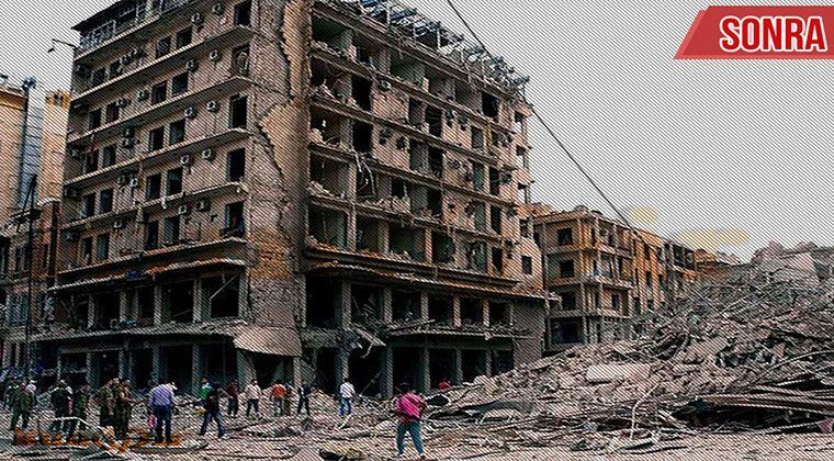 Suriye Savaş Görüntüsü