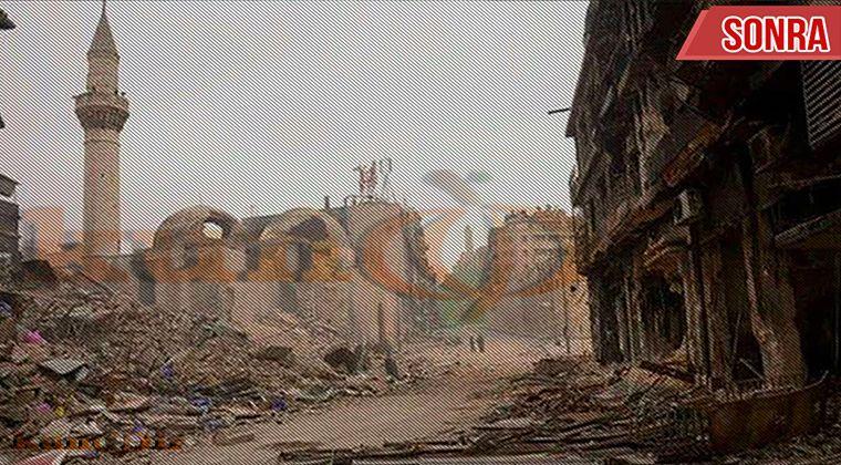 Suriye savaşı yıkım2