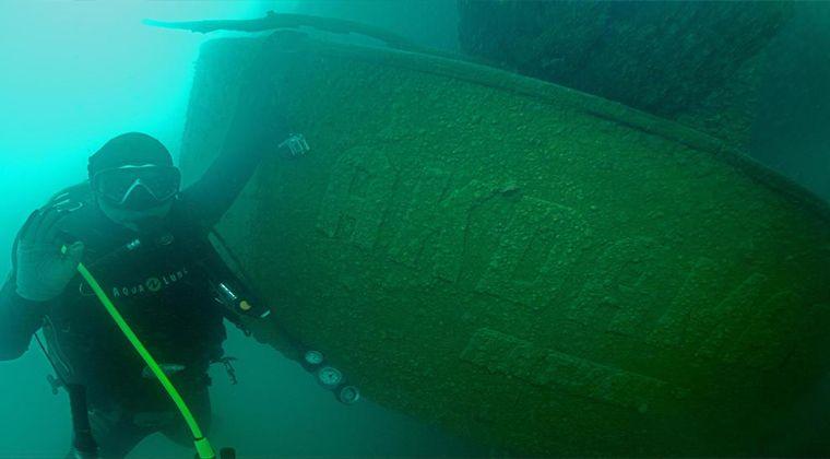 Vanda bulunan batan gemi
