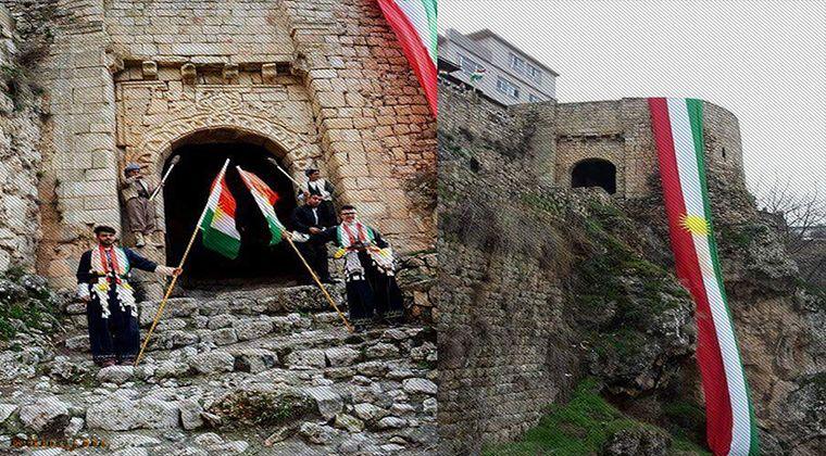 Kürdistan şehirlerinde kutlanan newroz görüntüleri