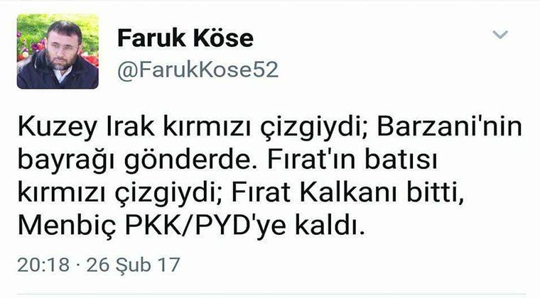 Kürdistan Bayrağı Faruk Köse