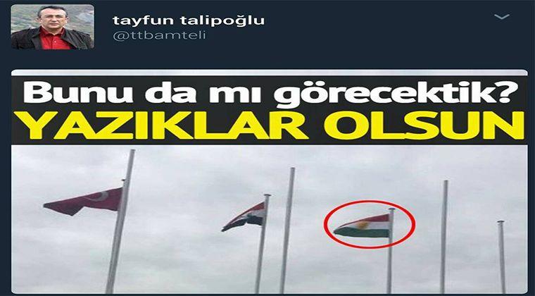Kürdistan Bayrağı Türkiye