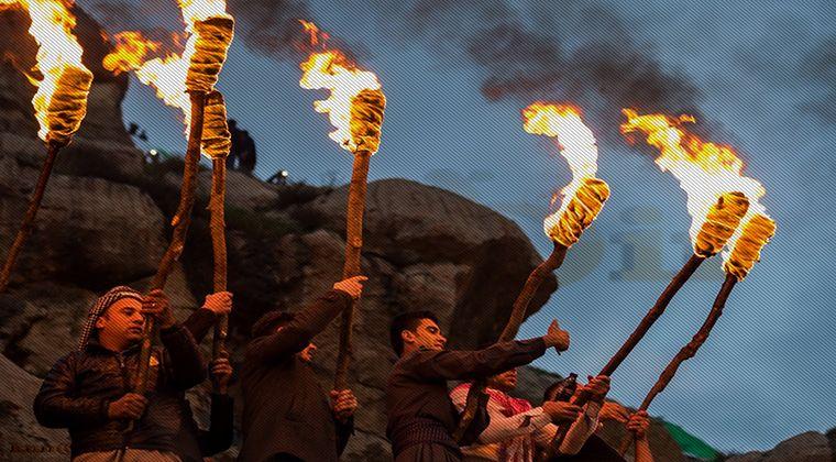 Kutlanan Newroz Etkinlikleri