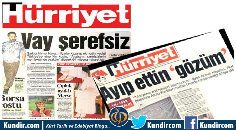 Ahmet Kaya Hayatı Gazeteler