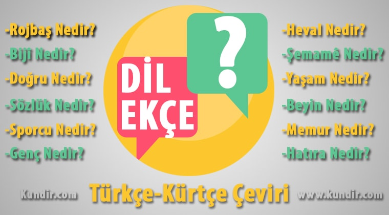 Kürtçe dilekçe çevirisi