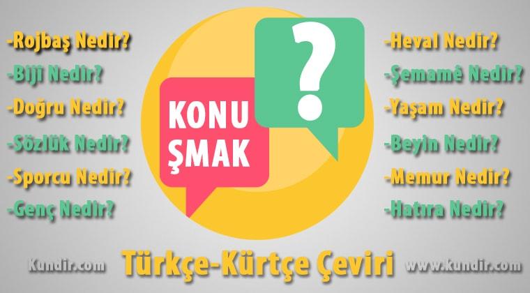 Kürtçe Konuşmak Çevirisi Anlamı ve Karşılığı