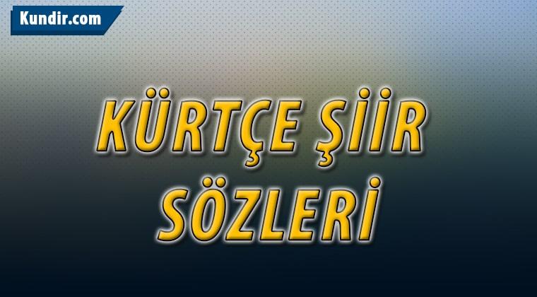Kürtçe Şiir Kelimeleri
