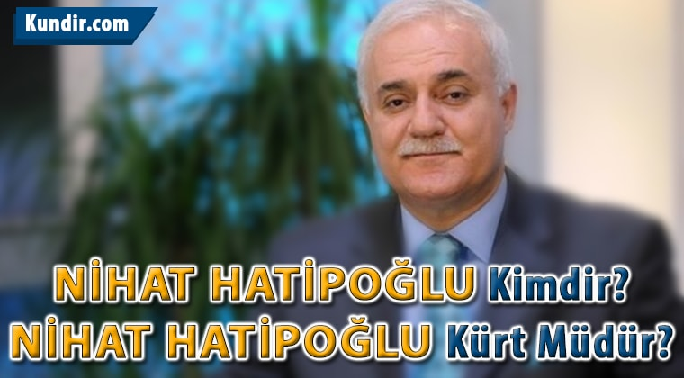 Nihat Hatipoğlu kürtçe